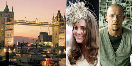 London is a New Fashion Capital of the World   Fashion   Wear     London  Kate Middleton  Alexander McQueen