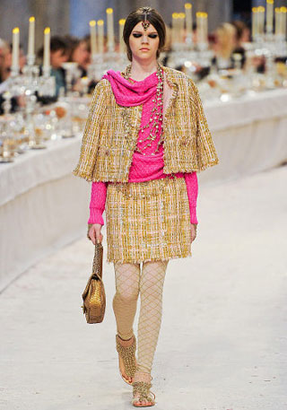 Chanel collection Indian style