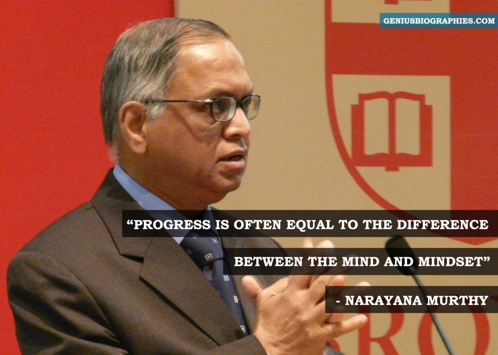 Progress is often equal to the difference between the mind and mindset.