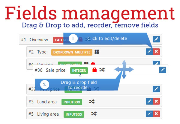 Fields Management