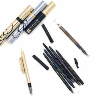Estee Lauder Waterproof Eyeliners+Lash Primer Plus+Sumptuous Extreme Lash Multiplying Volume Mascara