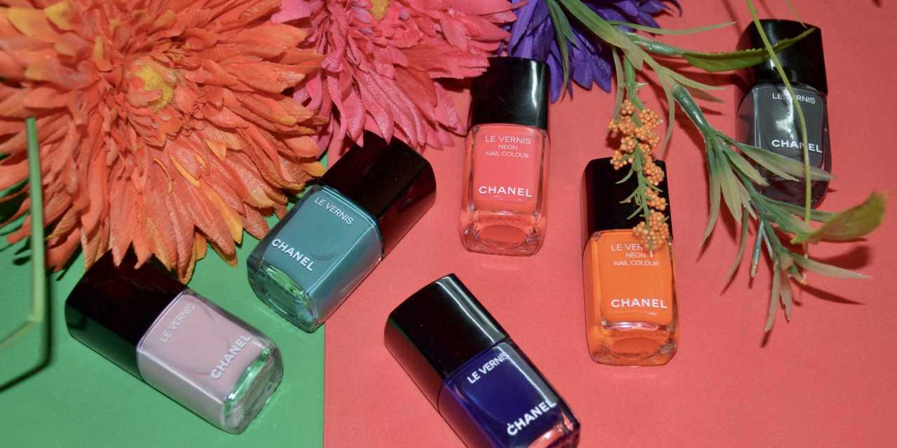 Chanel LE VERNIS Nail Colour Limited Edition Long Wear/Neon Nail Colour – Swatches + Review