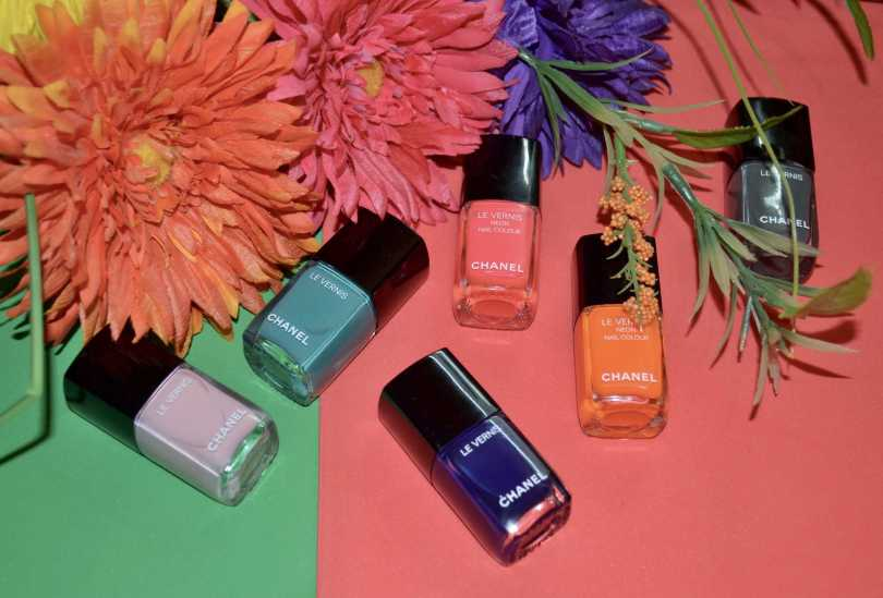 Chanel LE VERNIS Nail Colour Limited Edition Long Wear/Neon Nail ...