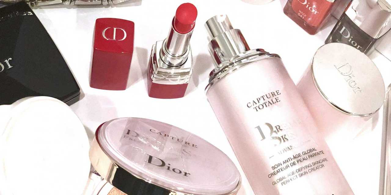 Dior Capture Totale DreamSkin Advanced Perfect Skin Creator + New Non Tinted DreamSkin Fresh and Perfect Cushion – Review + Swatches + Beauty Look