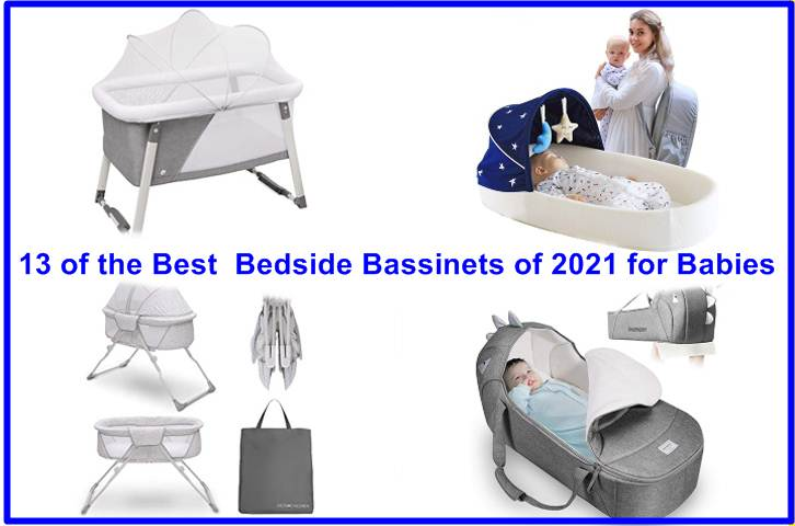 13 of the Best Bedside Bassinets of 2021 for Babies