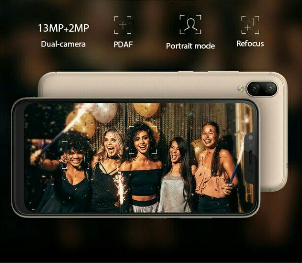 Infinix Hot 6X camera