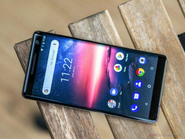 Nokia 8 Sirocco display