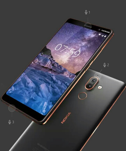 Nokia 7 plus design