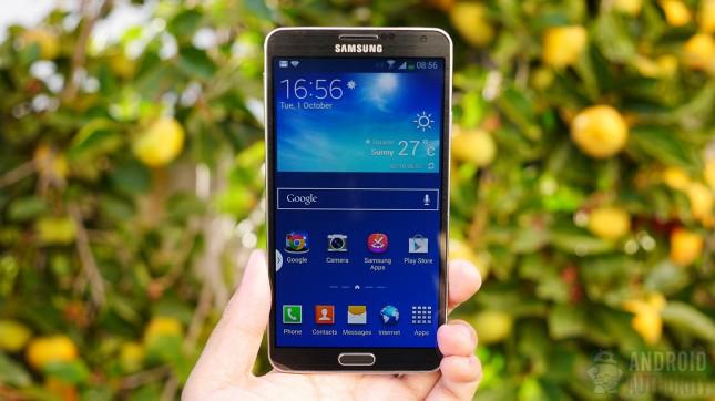 Galaxy Note 3 display