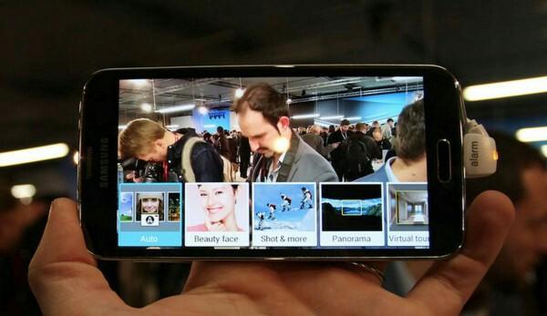 Samsung galaxy S5 plus camera