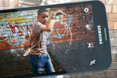 Samsung S5 LTE Camera