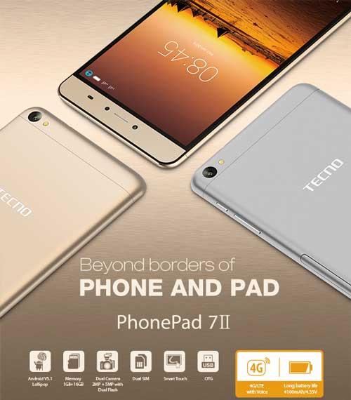 Tecno Phonepad 7