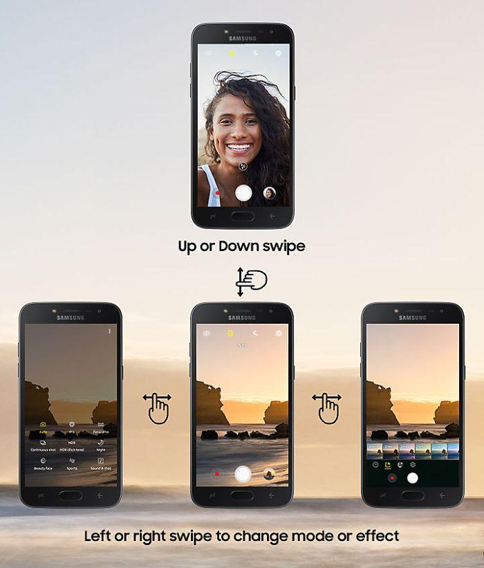 Samsung Galaxy J2 Pro camera