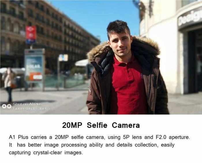 Gionee A1 plus Camera