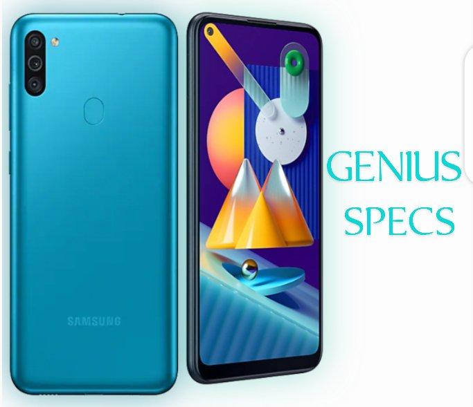 Samsung Galaxy m11 blue colour