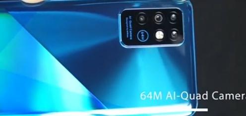 Infinix Note 8 quad rear camera