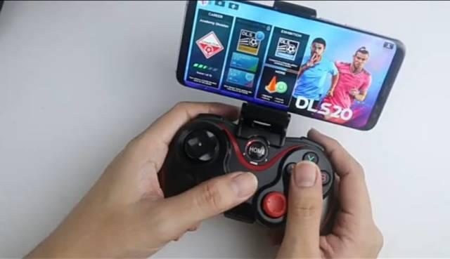 game pad setup
