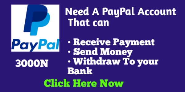 Get your PayPal account now