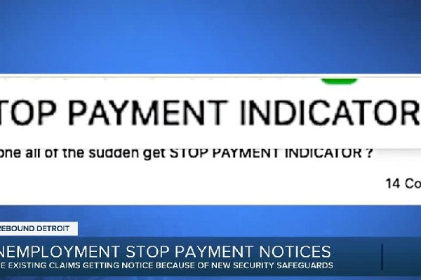 how to fix stop payment indicator unemployment