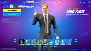Fortnite Agent Jonesy Skin
