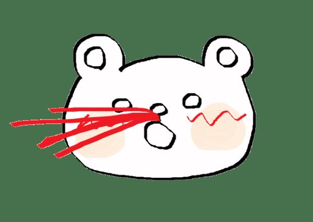 イザーク | 鼻血