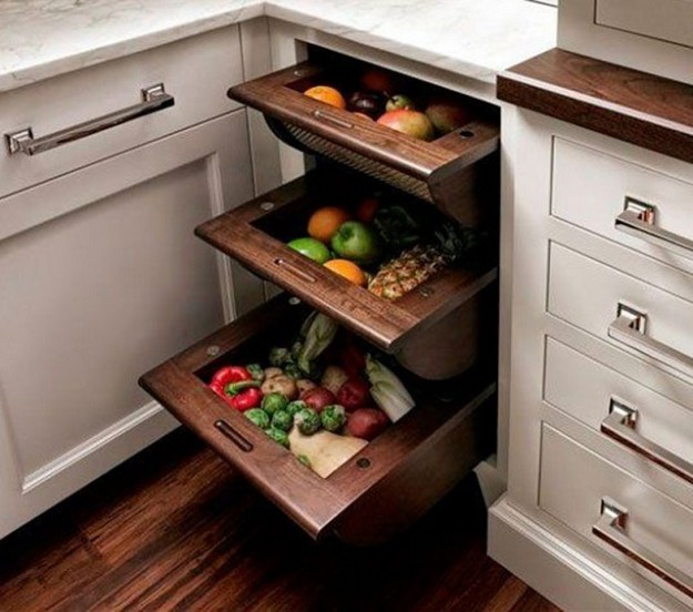 these 10 storage ideas are quiet stunning to enhance fruits and