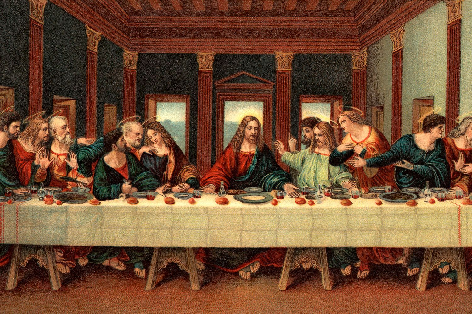 The Untold Secret About The Last Supper Painting Which