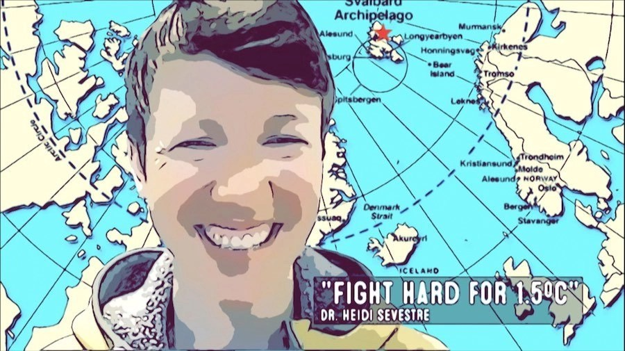 Heidi Sevestre | Permafrost Tipping Points \ Fighting For 1.5 Degrees