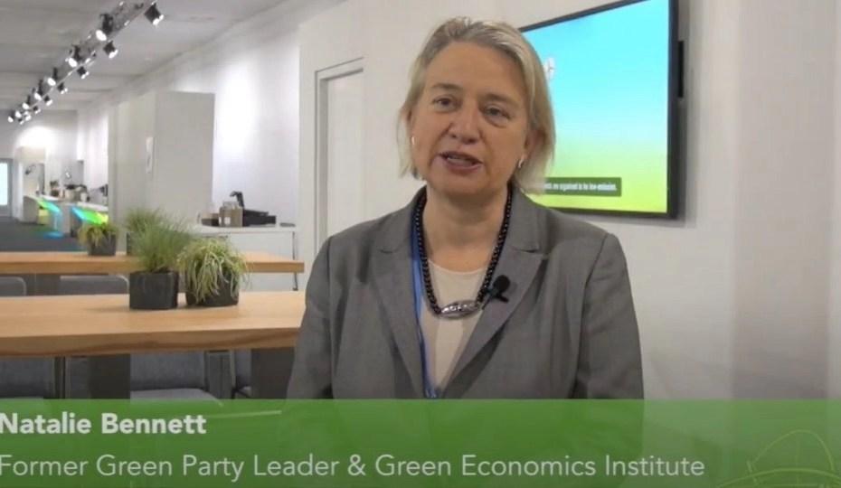 Natalie Bennett interviewed by Nick Breeze at COP22 Bonn for FIJI