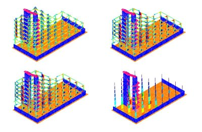 Analisi Lineare Dinamica Modale - Ospedale Cardarelli - verifiche globali 3