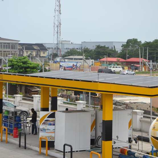 65.79KWP OFF GRID SOLAR POWERED FILLING STATION IN EJIGBO LAGOS STATE