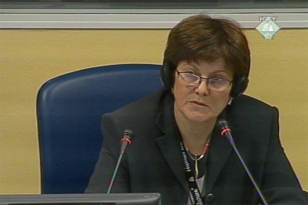 Ewa Tabeau, prosecution expert witness.
