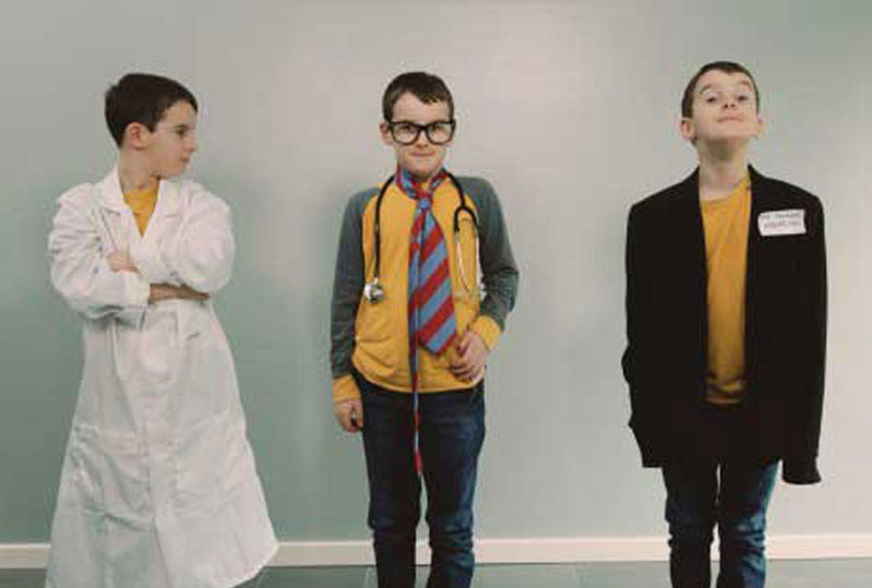 Charlie as an academic, a doctor, and a researcher in the pharmaceutical industry.