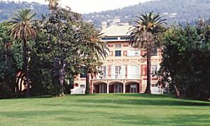 villa delle Raccolte Frugone