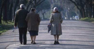 anziani inverno