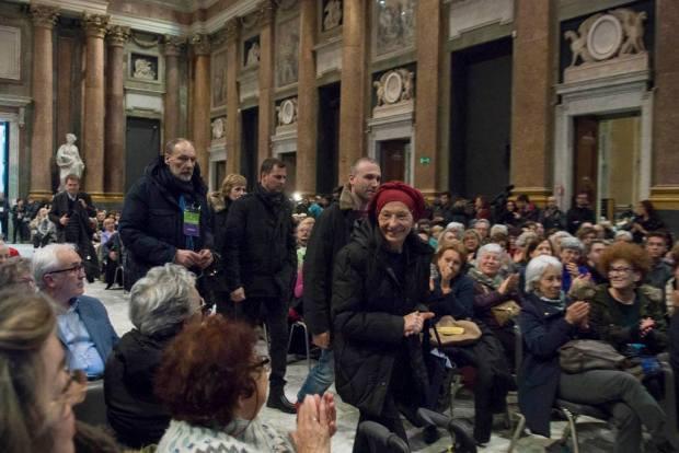 Emma Bonino al festival limes a Palazzo Ducale