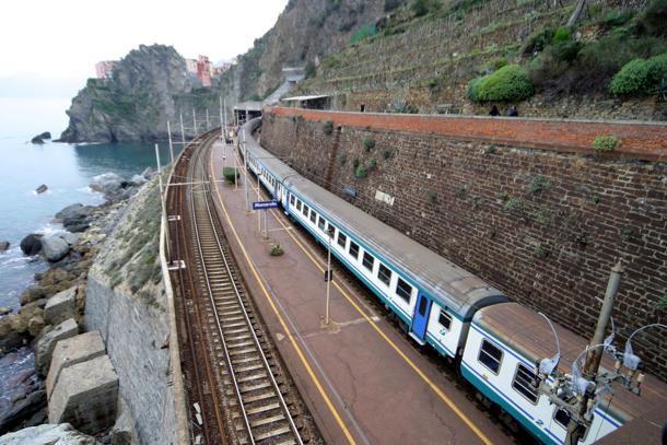 treno cinque terre
