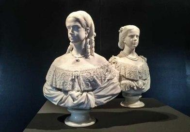 Palazzo Reale, i busti di Maria Clotilde e Maria Pia di Savoia raccontano la storia delle principesse