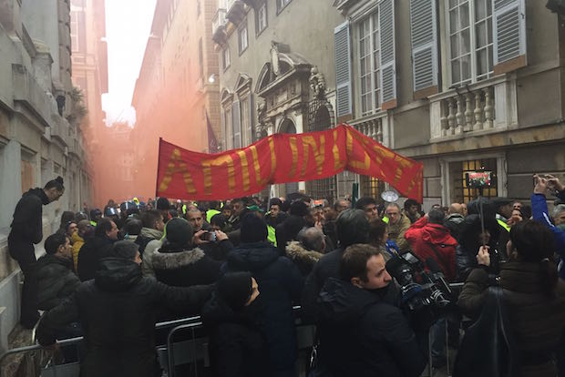 proteste amiu
