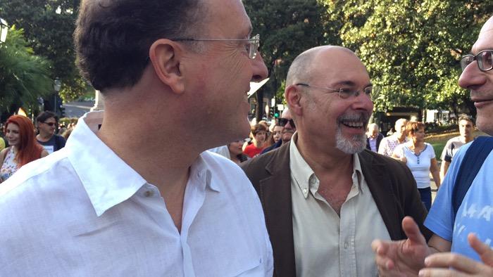 Ariel Dello Stologo e Stefano Bernini