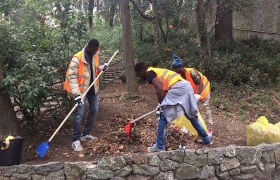 volontari giardini tito rosina