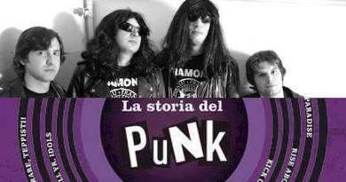 """""""La storia del punk"""", Gilardino presenta il nuovo libro all'Altrove con i Ramoni, Diego Curcio e Vera Vittoria Rossa"""