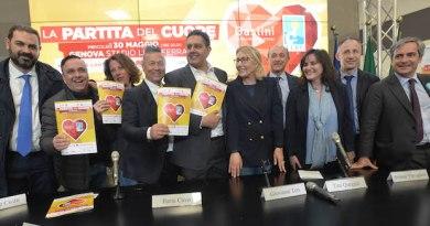 Partita del cuore, Nazionale Cantanti e Campioni del Sorriso in campo il 30 maggio per il Gaslini