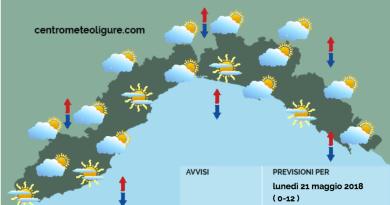 Meteo Limet, le nuvole aumentano sin dal mattino e la giornata finisce in pioggia