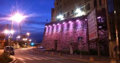 Le luci di Mura delle Grazie traslocheranno al Ponte Monumentale o all'ascensore di Castelletto
