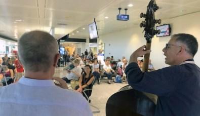 Festa della Musica jazz in aeroporto