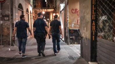 carabinieri via della maddalena centro storico
