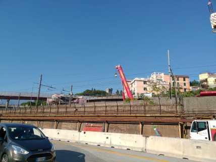 lavori raccordo ponte autostrada aeroporto