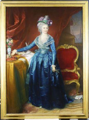 Anton von Maron, Ritratto di Francesca Maria (Cicchetta) Durazzo, Galleria Nazionale della Liguria (1)