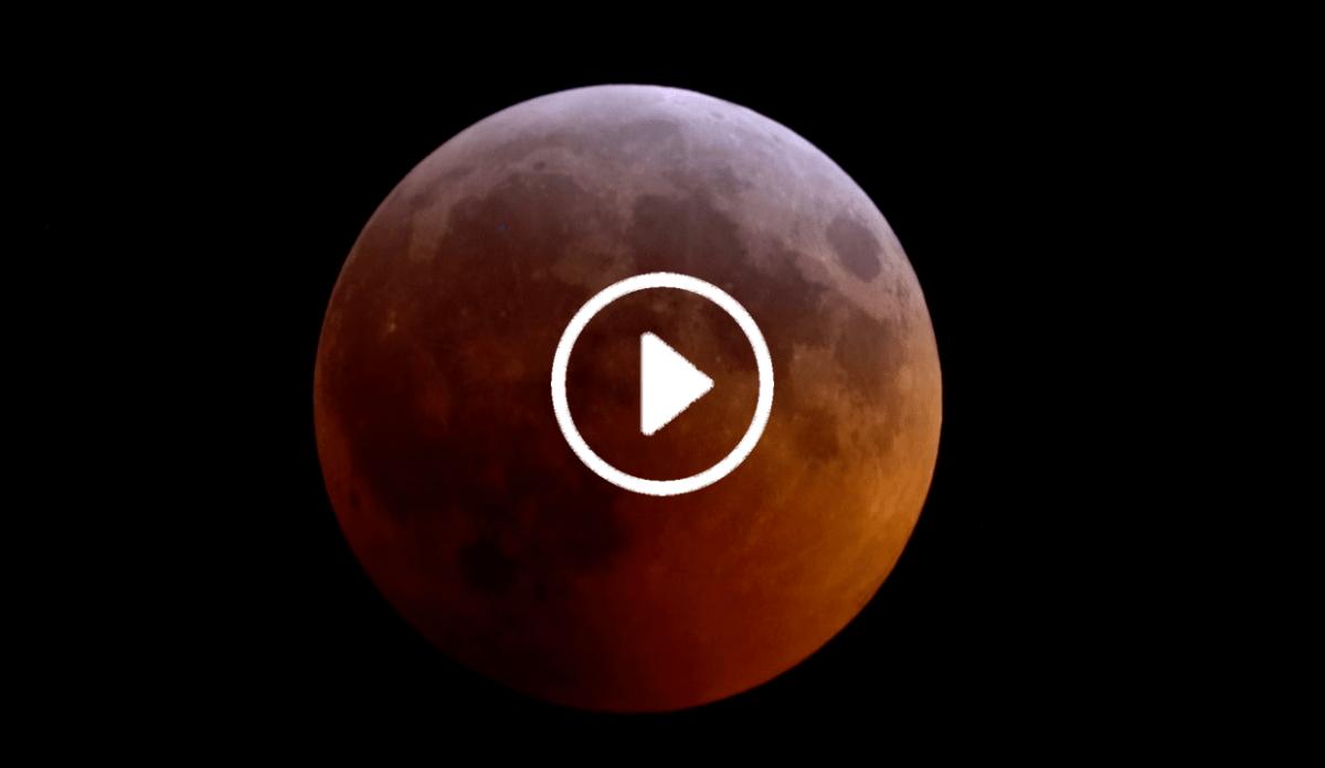 La diretta streaming dell'eclisse di luna - 21 gennaio